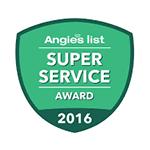 Angie's List - Super Service Award 2016