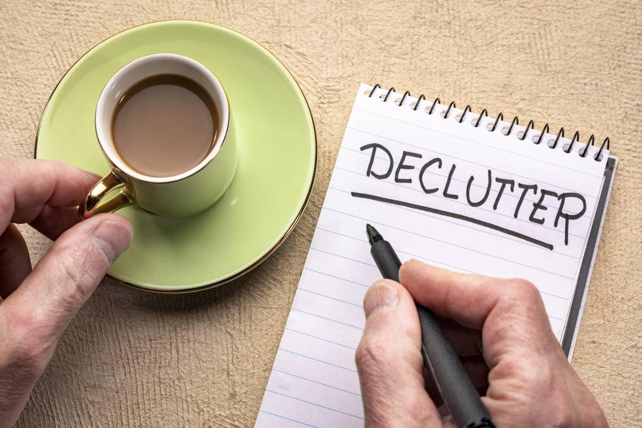 Declutter notepad